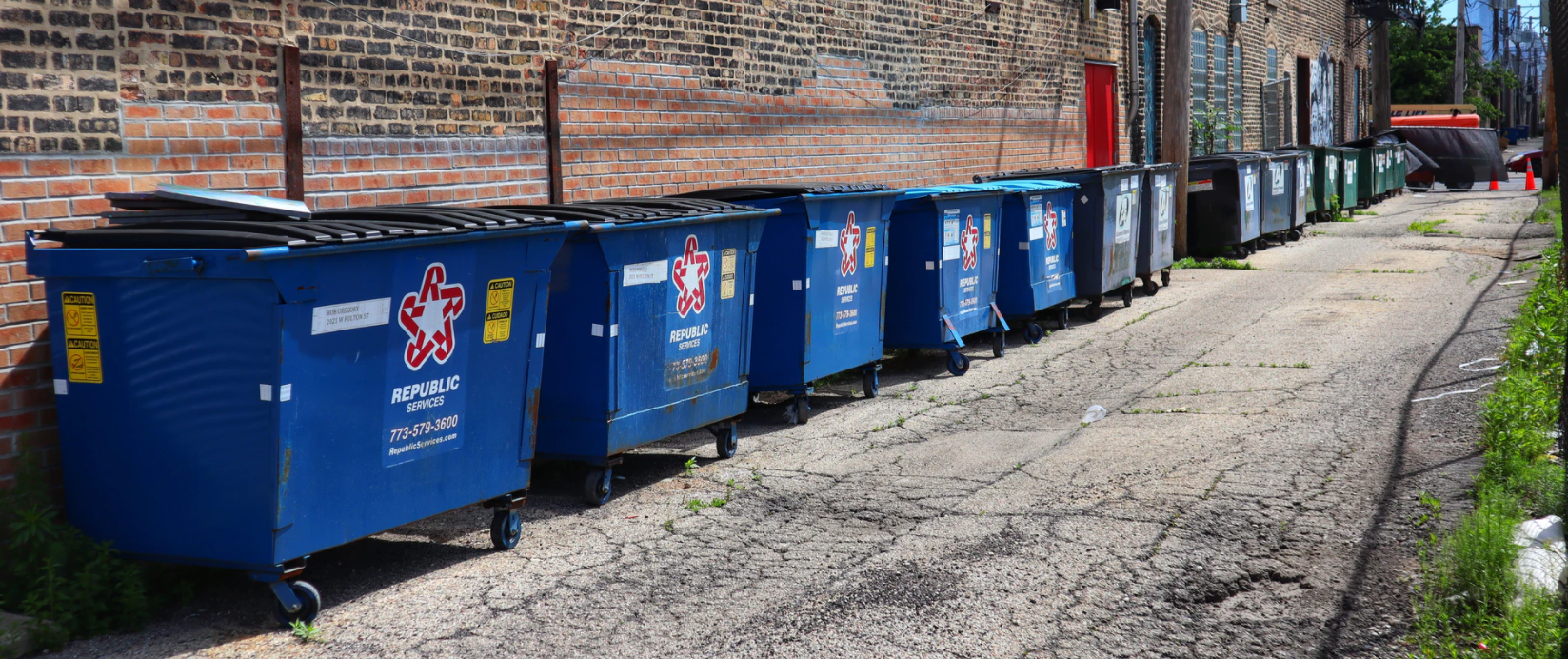 15.4 million tons of recyclables are collected annually